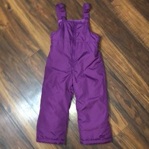 OshKosh B'gosh Purple Snowsuit Sz. 4T